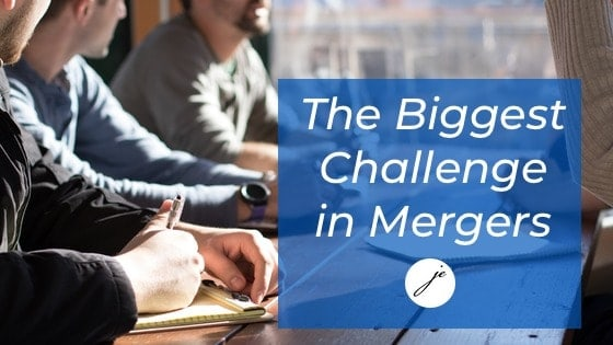 The Biggest Challenge of Practice Mergers